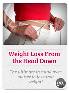 Weight loss from the head down