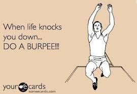 What lessons can you learn from a burpee challenge?
